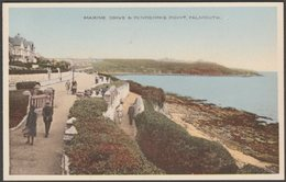 Marine Drive And Pendennis Point, Falmouth, Cornwall, C.1930 - W H Smith Postcard - Falmouth