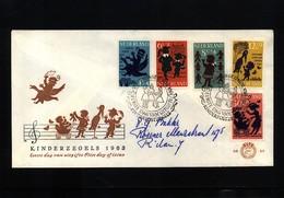 Netherlands 1963 Interesting Letter FDC - Period 1949-1980 (Juliana)