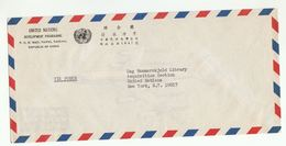 UN In TAIWAN Via DIPLOMATIC BAG 'Pouch' TAIPEI  UNDP  To UN NY USA United Nations Cover China - 1945-... Republic Of China