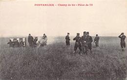 Pontarlier Champ De Tir Artillerie Borel - Pontarlier