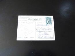 ENTIER POSTAL  55 C  CARTE POSTALE MONUMENT DE VIMY - Postal Stamped Stationery