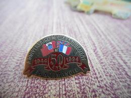 A009 -- Pin's Anniversaire Du Debarquement En Normandie - Army