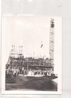 PHOTO D UN BATIMENT EN CONSTRUCTION 24 X 18 CM - Lieux