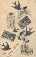 WW 63 THIERS. Multivues Avec Hirondelles Vers 1912 - Thiers