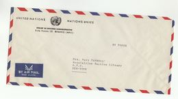 UN In MALI Via DIPLOMATIC BAG 'Pouch' MAMAKO Adminstrative Reform Project To UN NY USA United Nations Cover - Mali (1959-...)