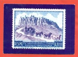 CARTOLINE CON FRANCOBOLLI-MRCOFILIA-SAN MARINO- AUGURALI - Briefmarken (Abbildungen)
