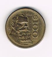 &-  MEXICO  100 PESOS  1985 - Mexique