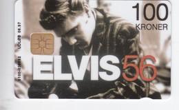 Denmark, DD 101, 100kr, Elvis 56,  Only 1500 Issued, 2 Scans. - Denmark