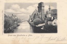 Gruss Aus WAIDHOFEN A. Ybbs - Gel.1898 - Waidhofen An Der Ybbs