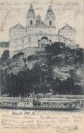 Stadt MELK (NÖ) - Raddampfer, Gel.1898 - Melk