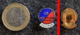 Ancien Insigne De Délégué De L'association LES ROUTIERS (1934) En Métal Doré émaillé - Camions