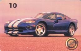 Denmark, P 135, Chrysler Viper, Mint, Only 2000 Issued, Car, 2 Scans. - Denmark