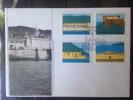 PORTUGAL  MADERE - Enveloppe 1er Jour - Série Forteresse De Madère - 1910-... République