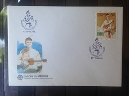 PORTUGAL  MADERE - Enveloppe 1er Jour - Europa 85 - 1910-... République