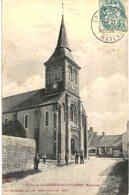 SAINT GERMAIN DE COULAMER ... L EGLISE - France