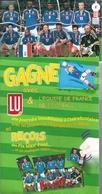 GF197 - POSTER FIX MAX BISCUITS LU - EQUIPE DE FRANCE DE FOOTBALL 2002 - Soccer