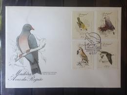 PORTUGAL  MADERE - Enveloppe 1er Jour - Série Oiseaux - 1910-... République