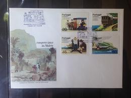 PORTUGAL  MADERE - Enveloppe 1er Jour - Série Moyens De Transports - 1910-... République