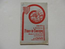 Livre De 31 Pages Sur Le Bienheureux Ponce De Faucigny, Fondateur De L'abbaye De Sixt Par P. Léon Buffet. - Books, Magazines, Comics