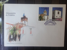 PORTUGAL  MADERE - Enveloppe 1er Jour - Série Monuments - 1910-... République