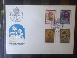 PORTUGAL  MADERE - Enveloppe 1er Jour - Série Fleurs - 1910-... République