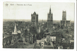 CPA - Carte Postale - BELGIQUE -  Gent - Panorama Des Trois Tours-1913 - S1615 - Gent