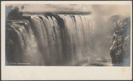 Elmer Keene - Victoria Falls From Livingstone Island, Northern Rhodesia, C.1910s - Perry & Co RP Postcard - Zambia