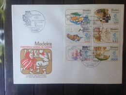 PORTUGAL  MADERE - Enveloppe 1er Jour - Série Conférence Mondiale Du Tourisme - 1910-... République