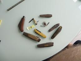 SUPER LOT DE COUTEAUX Vraiment à Voir Et Etudier ;plusieurs Scans - Knives/Swords