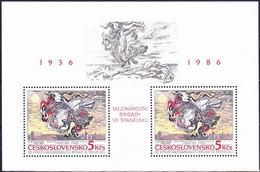 ** Tchécoslovaquie 1986 Mi 2880 - Bl.68 (Yv BF 72), (MNH) - Tchécoslovaquie