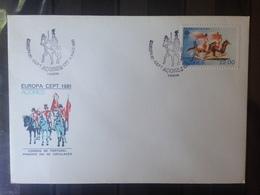 PORTUGAL  ACORES - Enveloppe 1er Jour - Europa 81 - 1910-... République