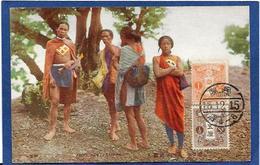 CPA TAIWAN Aborigènes Type Timbrée Non Circulé - Taiwan