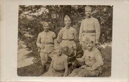 Carte Photo Non Localisée - Groupe De Soldats  -  (107868) - Personnages