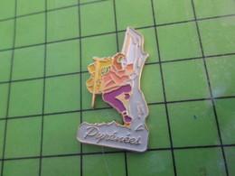 Pin1315b Pin's Pins / Beau Et Rare : THEME AUTRES / PAS TINTIN AU TIBET !! JUSTE ESCALADE DANS LES PYRENEES - Alpinism, Mountaineering