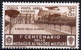 ITALIA, ITALY, REGNO, ESPRESSO AEREO, MEDAGLIE VALOR MILITARE, 1934, NUOVO (MLH*) Michel 512   Scott CE8 - 1900-44 Victor Emmanuel III