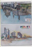Alt1050 Israele Israel Turismo Tourism Gadget Merchandising Jerusalem Tel Aviv Porta-tessere Tram Promenade Spiaggia - Oggetti 'Ricordo Di'