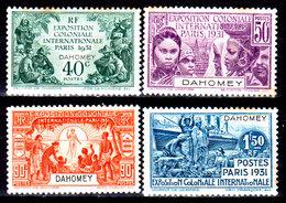 Dahomey-003 - Emissione 1931 (+) LH - Piccole Tracce Di Ruggine - Senza Difetti Occulti. - Unused Stamps