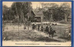 CPA Laos Types Asie Non Circulé - Laos