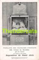 CPA GENT GAND PAVILLONS DES COUVEUSES D'ENFANTS EXPOSITION DE GAND 1913 - Gent