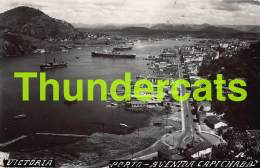 CPA PHOTO BRASIL BRESIL VICTORIA PORTO AVENIDA CAPICHABA CAPIXABA - Vitória