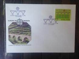 PORTUGAL  MADERE - Enveloppe 1er Jour - Europa 84 - 1910-... République