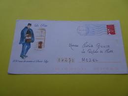Entier Postal PAP Local Personnalisé La Poste 250 Ans De Service Saint Lys (facteur) Haute Garonne Circulé En 2005 - Entiers Postaux