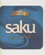 Alt1051 Saku Beer Estonia Brewery Sottoboccale Birra Beer Mats Sous-bocks Bierdeckel Portavasos - Sotto-boccale
