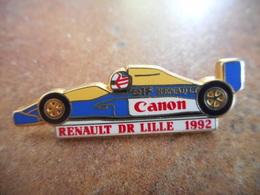 A010 -- Pin's Renault Lille Canon 1992 Formule 1 -- Exclusif Sur Delcampe - Renault