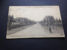 LILLE - LE NOUVEAU BOULEVARD LILLE-ROUBAIX-TOURCOING - FELDPOST - 2. 12. 1914 - Nach LINDENTHAL B. LEIPZIG - Guerra 1914-18
