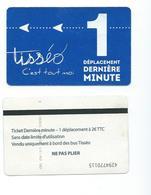 163 T - TICKET BUS - TOULOUSE  -  Déplacement Dernière Minute - Bus