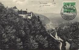 Suisse - Ref D327- Delemont - Le Vorbourg  - Carte Bon Etat - - Unclassified