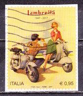 Italia 2017-Lambretta    Su Frammento - 1946-.. République