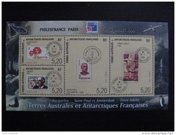 TAAF: TB BF N° 3, Neuf XX. - Blocks & Sheetlets
