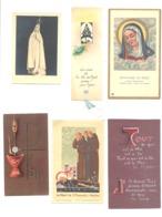 Religion - Lot 2 De 12 Images Pieuses (b232) - Santini